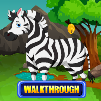 African Zebra Rescue Walkthrough