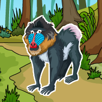 Ancient Mandrill Escape
