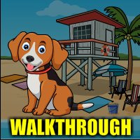 Beach Dog Escape Walkthrough