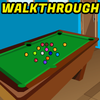 Billiards Room Escape Walkthrough