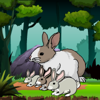 Bunny Kids Escape