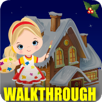 Christmas Dollhouse Escape Walkthrough