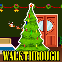Christmas Green Room Escape Walkthrough