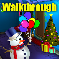 Christmas Happy Escape Walkthrough