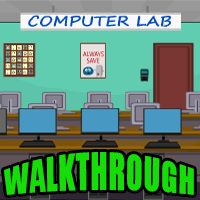 Computer Lab Escape Walkthrough