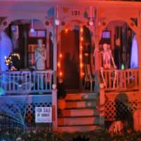 Elegant Halloween House Escape