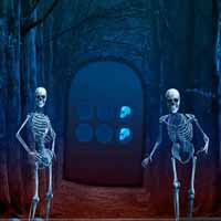 Escape Game Skeleton Forest
