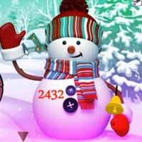 Fantasy Snowman World Escape