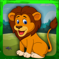 G4E Cute Lion Rescue
