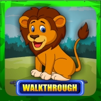 G4E Cute Loin Rescue Walkthrough