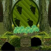 Green Bush Squirrel Forest Escape