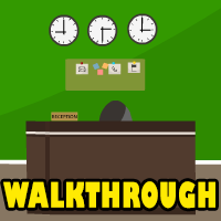 Green Office Room Escape Walkthrough