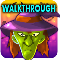 Halloween Green Witch Escape 2018 Walkthrough