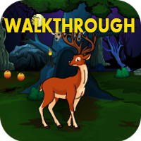 Halloween Deer Hunting Forest Escape Walkthrough