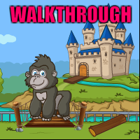 Little Gorilla Escape Walkthrough