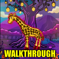 Mysterious Giraffe Escape Walkthrough