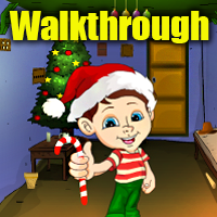 Old Christmas House Escape Walkthrough
