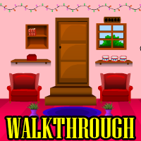 Pink Christmas Room Escape 2 Walkthrough