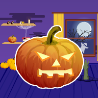 Purple Halloween Room Escape