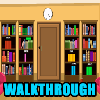 School Library Escape Walkthrough