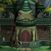 The bull frog temple