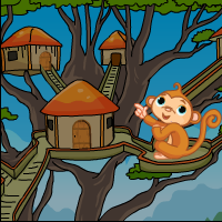 Tree House Monkey Escape
