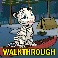 White Tiger Escape Walkthrough